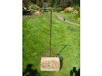 Heavy Ornate Garden Roller