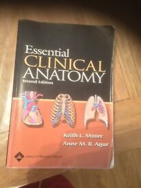 Essential Clinical Anatomy 2nd edition (Agur and Moore)