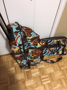 For sale: matching suitcases