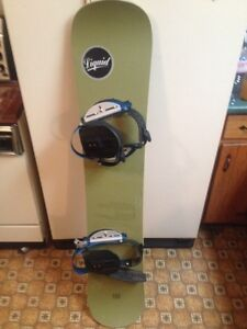 Liquid 145 board and size 11 boots