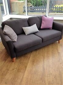 Large Tweed Sofa