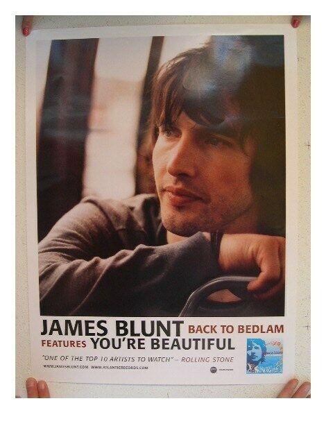 James Blunt Poster Back To Bedlam