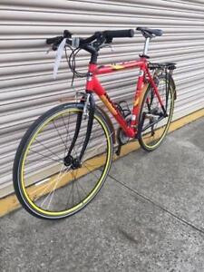 Rock Machine flat bar road bike. Port Melbourne Port Phillip Preview