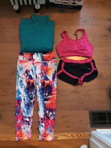 Clothing with Lulu Shorts (XS & Small)