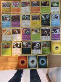 Pokemon Card Bundle! Mixed Sun & Moon Collection's All Mint. RARE HOLO'S.