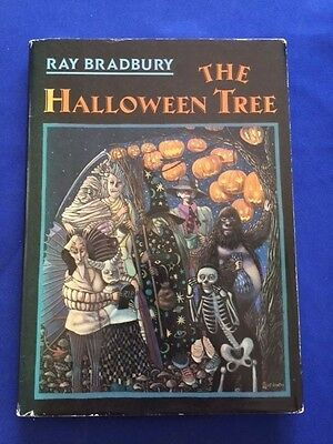 THE HALLOWEEN TREE: FIFTEENTH ANNIVERSARY EDITION: REVIEW COPY INSCRIBED BY RAY](The Halloween Tree 1st Edition)