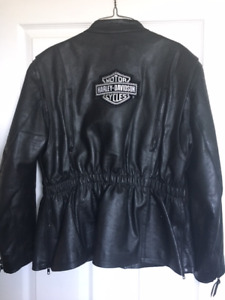 Ladies Harley Davidson Jacket Large