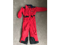 Trespass Ski Outfit Snow onesie, salopettes trousers all in one, suit girl or boy Age 7-8