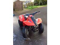 Honda sportrax 90 quad