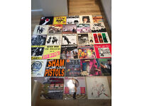 Huge Punk, Ska and Two Tone record collection. Clash, Sex Pistols, Buzzcocks - REDUCED