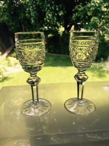 Waterford crystal. Castletown pattern. Cordials. set of 6