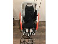 Rhode Gear child / toddler bike seat and bike rack