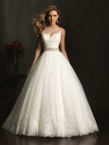 Selling brad new Allure Bridals 9073 wedding dress with matching