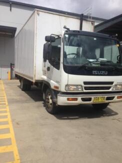 LARGE TRUCK RENTALS 40 TO 60 M3