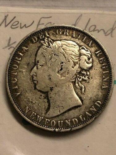 1874 - Newfoundland - 50 cents