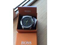 huge hugo boss sports watch