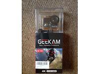 New in unopened packaging - Sport Action Camera 4K waterproof