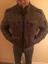 ENERGIE - Mens fitted padded jacket