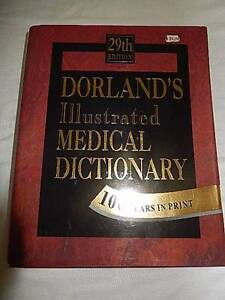 Dorland's Illustrated Medical Dictionary Dutton Park Brisbane South West Preview
