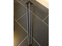 Free! 3 rod hairpin legs 28 inch/71 cm - 4 legs