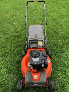 22 inch Husqvarna All Wheel Drive Lawnmower -Excellent Condition