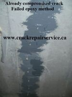 WET BASEMENT/ BASEMENT CRACK REPAIR / MISSISSAUGA, BRAMPTON