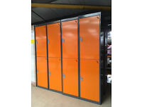 Brand New 2 Door Lockers with Keys x4 (NOW REDUCED)