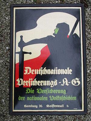 DEUTSCHNATIONALE VERSICHERUNGS - A -G HAMBURG