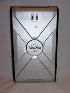 NetDisk Ethernet/USB 2.0 120GB EXternal Hard Drive