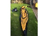 Sevylor Pointer K2 inflatable canoe. Takes 2/3 people.
