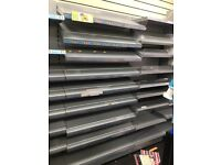 SHOP FITTINGS-Shelves, Counter, Card Stands, Newspaper Racks, Cig Gantry etc