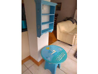 Kids Furniture - Table & Shelf Unit