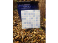Blue Mosiac effect tiles - FREE