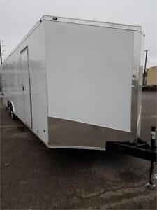 NEW 2019 8.5X14 16 18 20 22 24 28 ENCLOSED TRAILERS ON SALE