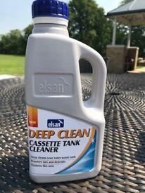 Deep Clean Cassette Toilet Tank Cleaner 1 Litre Elsan For Caravans, Motorhomes Or Boats