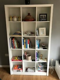 High gloss bookcase