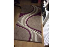 Small Sized Rug, pattern in 3 colours