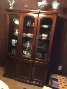 china cabinet in good condition $350 obo