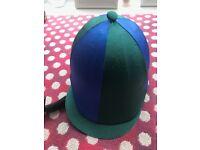 Onyx Dublin Kids Riding Hat & Silk