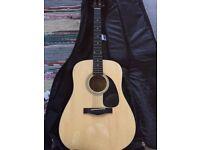 Fender Acoustic Guitar DG-5NAT & Kit Perfect Condition