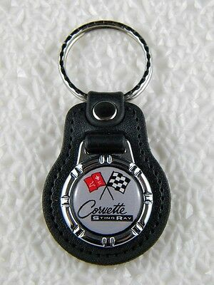 CORVETTE STINGRAY KEY FOB SPORTS CAR C2 BIG BLOCK V8 PIN C7 CHAIN C3 RING PATCH