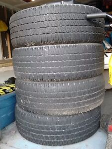 275/60R 20 (Four Tires for Price of One)