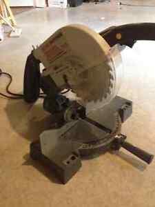 compound mitre saw 10 inch