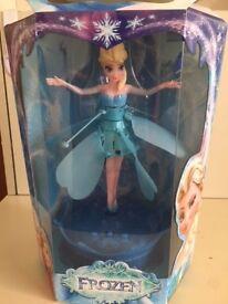 NEW- Elsa flying doll