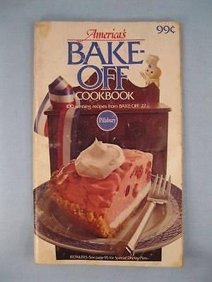 America's Bake-Off Cookbook Small Pillsbury Desserts Main Dishes Cakes Nice (O) Bake Off Desserts