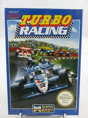 TURBO RACING NES PAL-B (FRA) (COMPLETE - GOOD CONDITION)