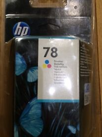 EXPIRED Original HP 78 Tri-Colour ink cartridge 560 pages