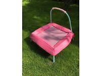 Children's Pink Trampoline