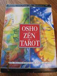 OSHO ZEN TAROT Transcendental cards & instruction book
