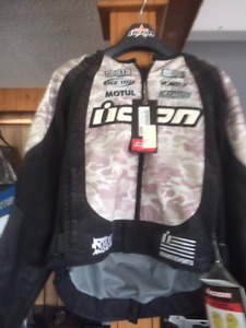 ASSORTED NEW OLD STOCK MOTORCYCLE JACKETS